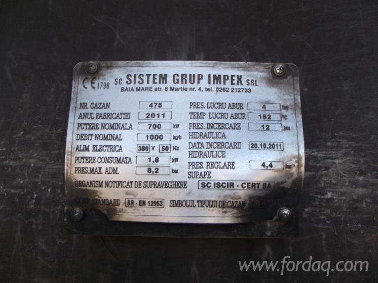 Used-IMPEX-KS-BPR-1-0-20-10-2011-Wood-Furnaces-For-Generating-Hot-Gas-For-Sale