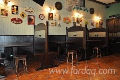 Panche Legno Per Pub.Panche Su Misure In Legno Massello Adatte Per Locali Pub Birreria Pub