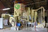 Straw pelletizing equipment set with pellet mill
