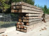 Drewno Iglaste  Drewno Klejone Warstwowo – Elementy Drewniane Łączone Na Mikrowczepy Na Sprzedaż - Belki Klejone Proste, Antico Trentino, Jodła Pospolita