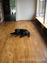 Solid Wood Flooring - Solid oak flooring Natur/Rustik 21x180-800-2800mm, finished