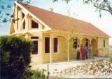 Cabaña de Vacaciones, Abeto (Picea abies) - Madera Blanca