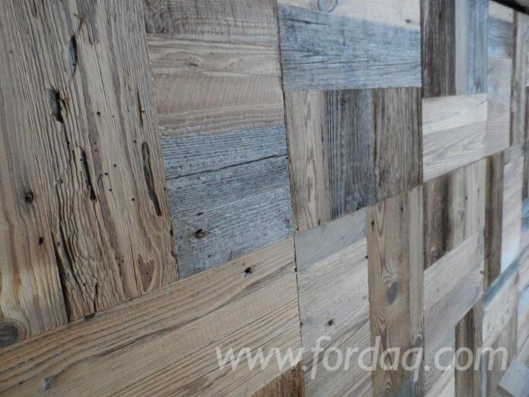 FIR MOSAIC original upper flat blue/gray panel