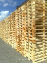 Lithuania Pallets And Packaging - New Pallets, 120 x 800 x 1200 mm