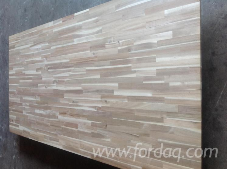 Fresh-Acacia-edge-glued-panel---solid-wood-panel
