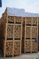 Firewood, Pellets And Residues Beech - Cleaved firewood/woodlogs offer