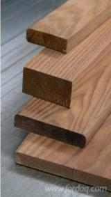 Hardwood  Sawn Timber - Lumber - Planed Timber Thermo Treated For Sale - THERMOASH semi-products