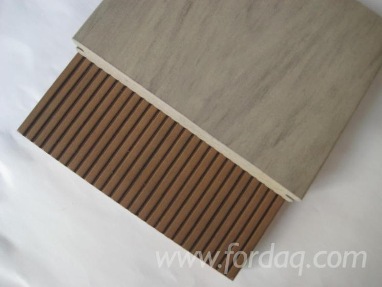 Mix-color-composite-wood-decking