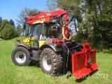 Skidding - Forwarding, Forest Tractor, JCB