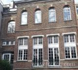 Двері, Вікна, Сходи CE - Європейська Хвойна Деревина, Ялина  - Біла, CE