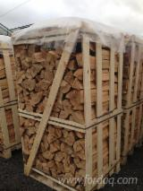 Firewood Cleaved - Not Cleaved, Firewood/Woodlogs Cleaved, Ash (White)(Europe)