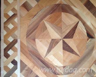 胡桃木 欧洲的 企口地板 拼花地板