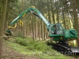 Find best timber supplies on Fordaq - New Impex Königstiger T30 Caterpillar Track Harvester Italy