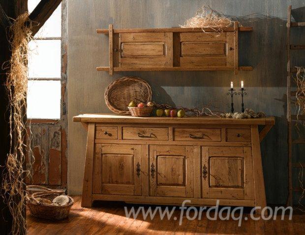 Wholesale Traditional Oak Kitchen Sets Romania