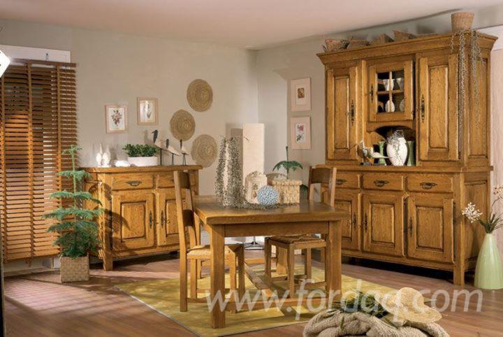 Wholesale traditional oak european kitchen sets romania for Traditional european kitchen