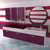 Bathroom Furniture - Cabinets, Kit - Diy assembly, 20.000 pieces per year