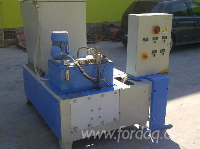 Slicing---Cleaving---Chipping---Debarking--Disintegrators