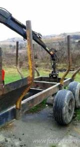 Used Forest Harvesting Equipment - Accessories for Harvesting Machines, Clam Bunk