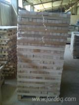 Hardwood  Sawn Timber - Lumber - Planed Timber - Beech - squares elements AD or KD
