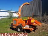 Chipper-Canter - Teknamotor Skorpion 350SDB Mobile Wood Chipper