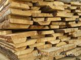 Half-Edged Boards, Pine (Pinus sylvestris) - Redwood