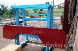 Woodworking Machinery Log Band Saw Vertical - New Cutean Log Band Saw Vertical in Romania