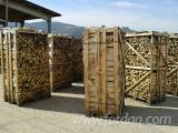 FSC Firewood/Woodlogs Cleaved from Romania - Firewood hornbeam naturally dried 12 months