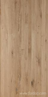 Edge Glued Panels Glued Discontinuous Stave  FSC For Sale - Oak Glued Solid Panels