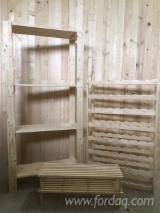 Kitchen Furniture for sale. Wholesale Kitchen Furniture exporters - Kit - Diy assembly, Spruce (Picea abies) - Whitewood, Wine Cellars, 1000-3000 pieces per month