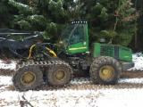 Skidding - Forwarding, Harvester, John Deere