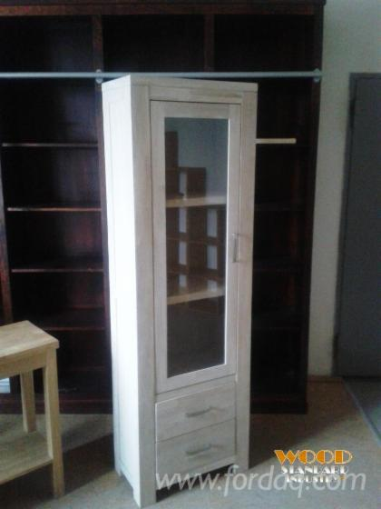 Contemporary-Spruce-%28Picea-Abies%29-Display-Cabinets-Bacau