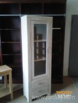Living Room Furniture - Contemporary Spruce (picea Abies) - Whitewood Display Cabinets Bacau in Romania