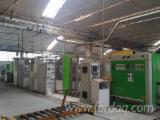 Used 1st Transformation & Woodworking Machinery - COMPLETE LINE AUTOMATIC BORING/DOWEL INSERTING BIESSE/RBO, CE