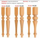 Table Legs - We produce a variety of wood products(furniture legs - square,turned,carved,bent,modern,twisted)