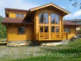 Wooden Houses - Wooden Houses Spruce  - Whitewood 100 m2 (sqm) from Romania