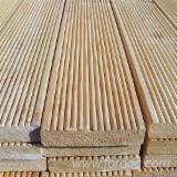 Anti-Slip Decking  Exterior Decking - Siberian Larch Anti-Slip Decking, FSC, 27-45 mm thick