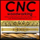 Usługi Obróbki Drewna - Dołącz Do Fordaq - Obróbka skrawaniem CNC ( 3 & 4-osiowa obrotowa 360 stopni ) -frezowanie 3D, wycinanie 2D, nesting, toczenie CNC