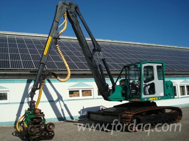 Used-Impex-Minik%C3%B6nigstiger-Caterpillar-Track-Harvester