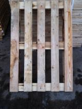 Pallets – Packaging Lithuania - 1200x800 wooden pallets of second choice
