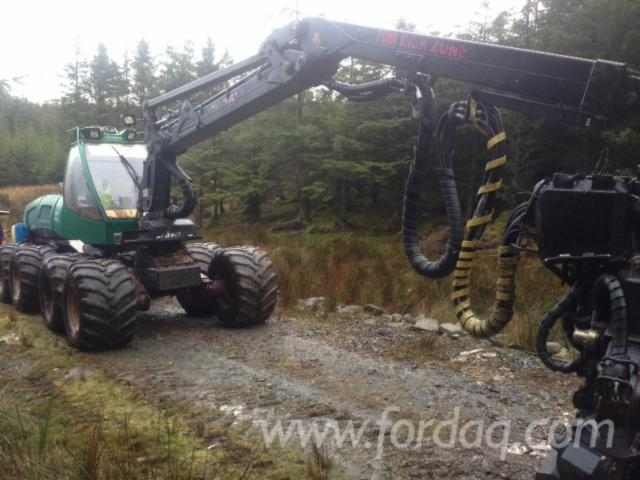 Used-2010-Silvatec-8266TH-Sleipner-Boss-Harvester-in