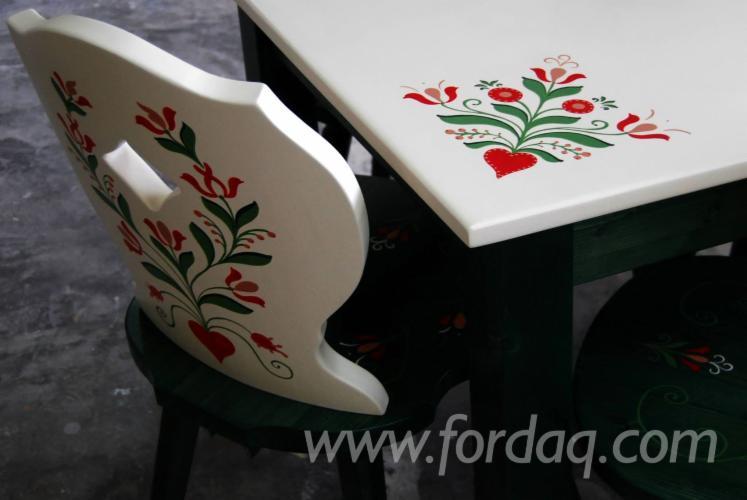 Vender Mesas De Restaurante País Madeira Macia Européia Abeto (Picea Abies) - Whitewood Harghita Roménia