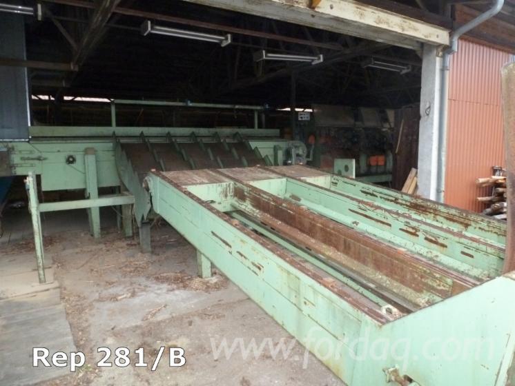 Used-1992-Oswald-RM101-Double-t%C3%AAtes-Milling-Line---Ligne-de-Fraisage-in