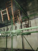 Linii De Productie Complete, Trasportatore aereo a catena per la movimentazione delle sedie e/o affini tinte su ganci., Caterpillar