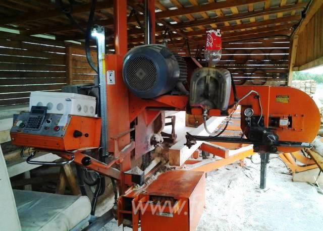 Used Wood-Mizer LT 40 Circular Saw For Sale Romania