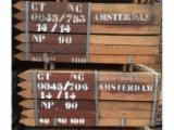 Azobe poles , 6 cm x 6 cm Length : 1 m