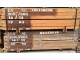 Azobe poles , 6 cm x 6 cm Length : 1.5 m