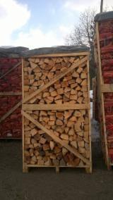 FSC Buche Brennholz Gespalten (od 6 do 8 ) (od 8 do 12 ) cm