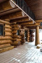 Case Din Lemn Romania - Case din lemn rotund necalibrat masiv 30-70cm