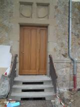 ISO-9000 Certified Finished Products - Fir (abies Alba, Pectinata) Doors from Romania
