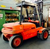 Linde Woodworking Machinery - Used Linde H40 Front Stacker For Sale Italy